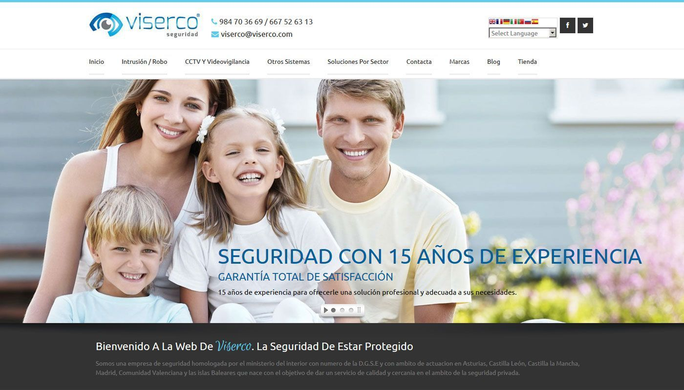 Diseño Wordpress Viserco
